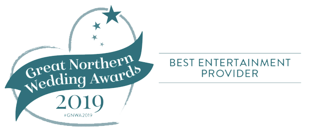 Great Northern Wedding Awards Entertainment Winner