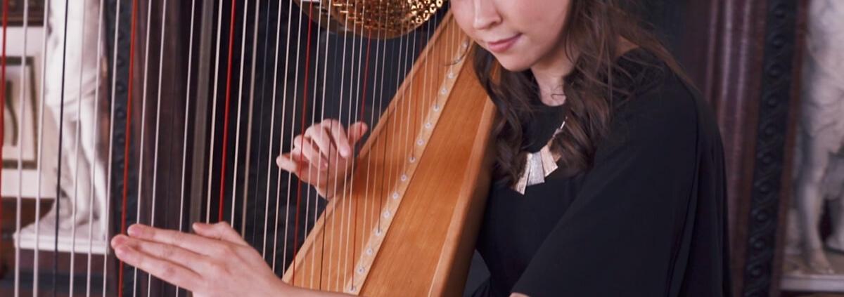 Wedding Harp Artist Performer