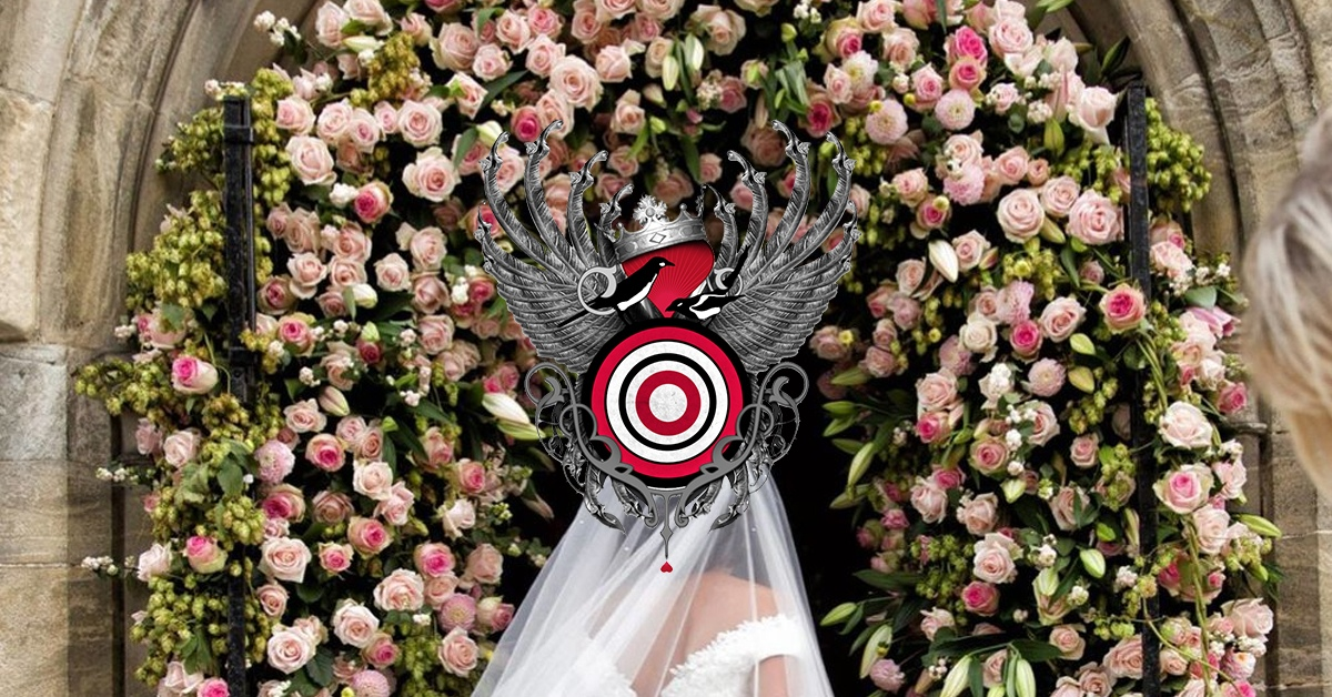 Red Floral Wedding Flowers