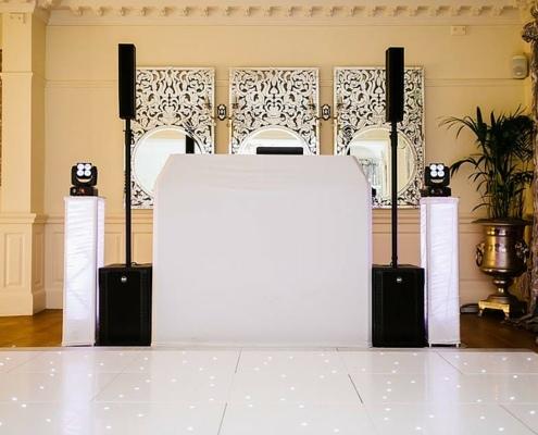 DJ booth (DFC standard)